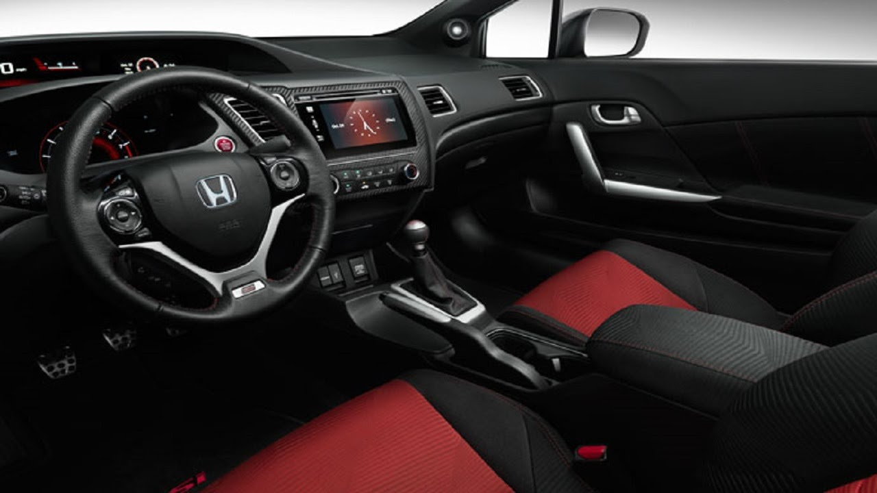 Honda Civic Si Coupe Interior And Exterior Design Youtube