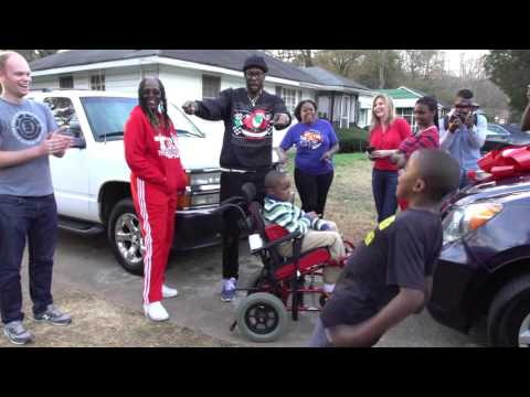 2 Chainz Gives MiniVan To A Family So They Can Get Brain Damaged Son To And From The Hospital
