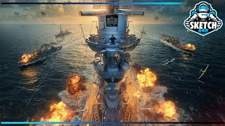 ⚓ ВЕЧЕРНИЙ РАНДОМ 🦀 World of Warships. Sketch TV