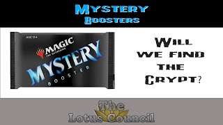 Search for The Crypt- Mystery Boosters