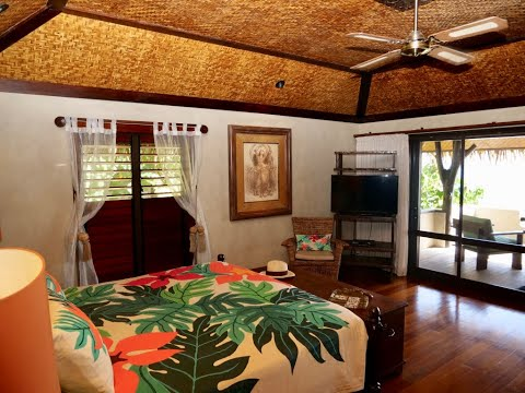 Hotel Room Review - Pacific Resort, Aitutaki, Cook Islands - Premium Bungalow Beachfront