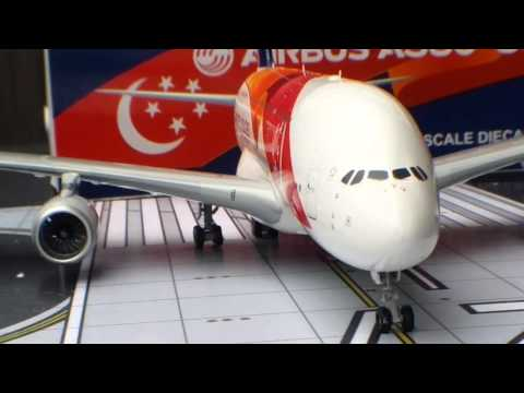 JC Wings 200 Singapore Airlines Airbus A380-800(SG50)Review
