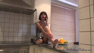 Repeat youtube video Amputee Nina in pantyhoses