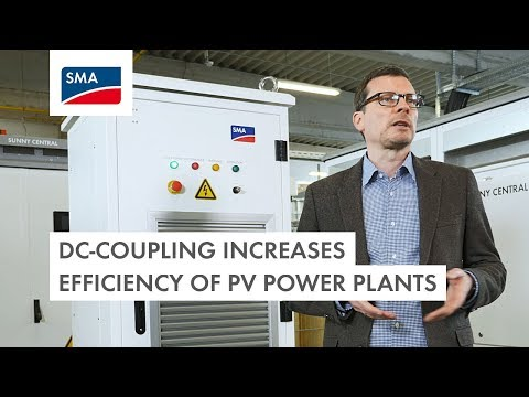DC-coupling increases efficiency of PV power plants