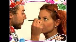 видео Макияж для карих глаз и рыжих волос
