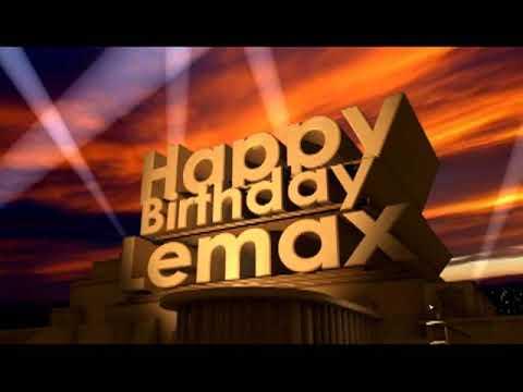 Happy Birthday Lemax