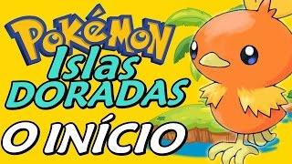 Pokémon Hack: Islas Doradas - O Início (Gameplay em Português)