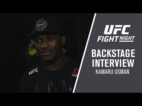 "Fight Night Santiago: Kamaru Usman - ""I Went in and Dominated From Start to Finish"""