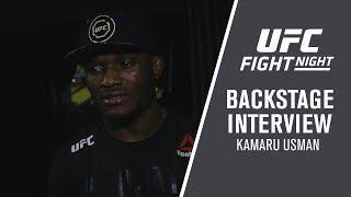 Fight Night Santiago: Kamaru Usman -