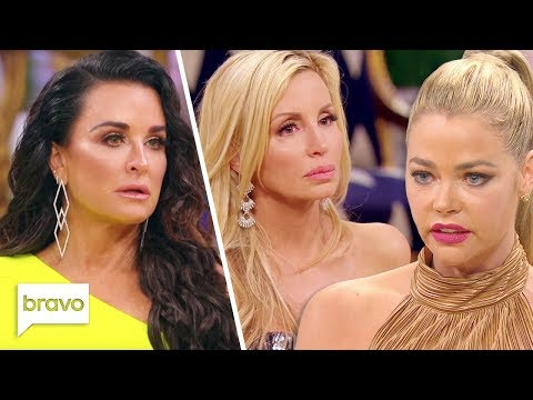 Kyle Breaks Down Over LVP & Denise Challenges Camille | RHOBH Reunion Pt 3 Highlights (S9 Ep24)