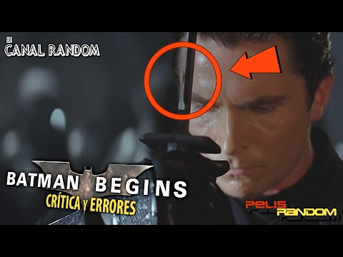 Errores de peliculas Batman Begins Crítica Review WTF PQC