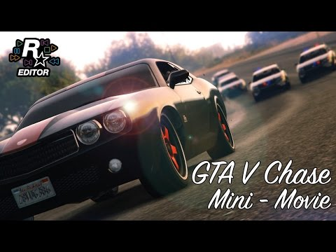 Another day in Los Santos [Epic Chase GTA V mini movie]