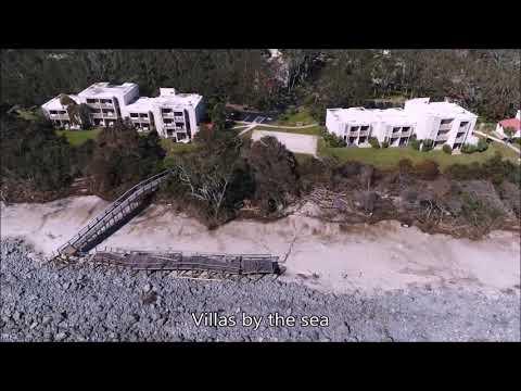 Jekyll Island Beach after Hurricane Irma