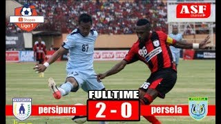 persipura jayapura vs persela lamongan highlight FT 2-0 shopee liga 1 indonesia 2019