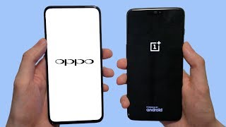 Oppo Find X vs OnePlus 6 Speed Test, Cameras & Speakers!