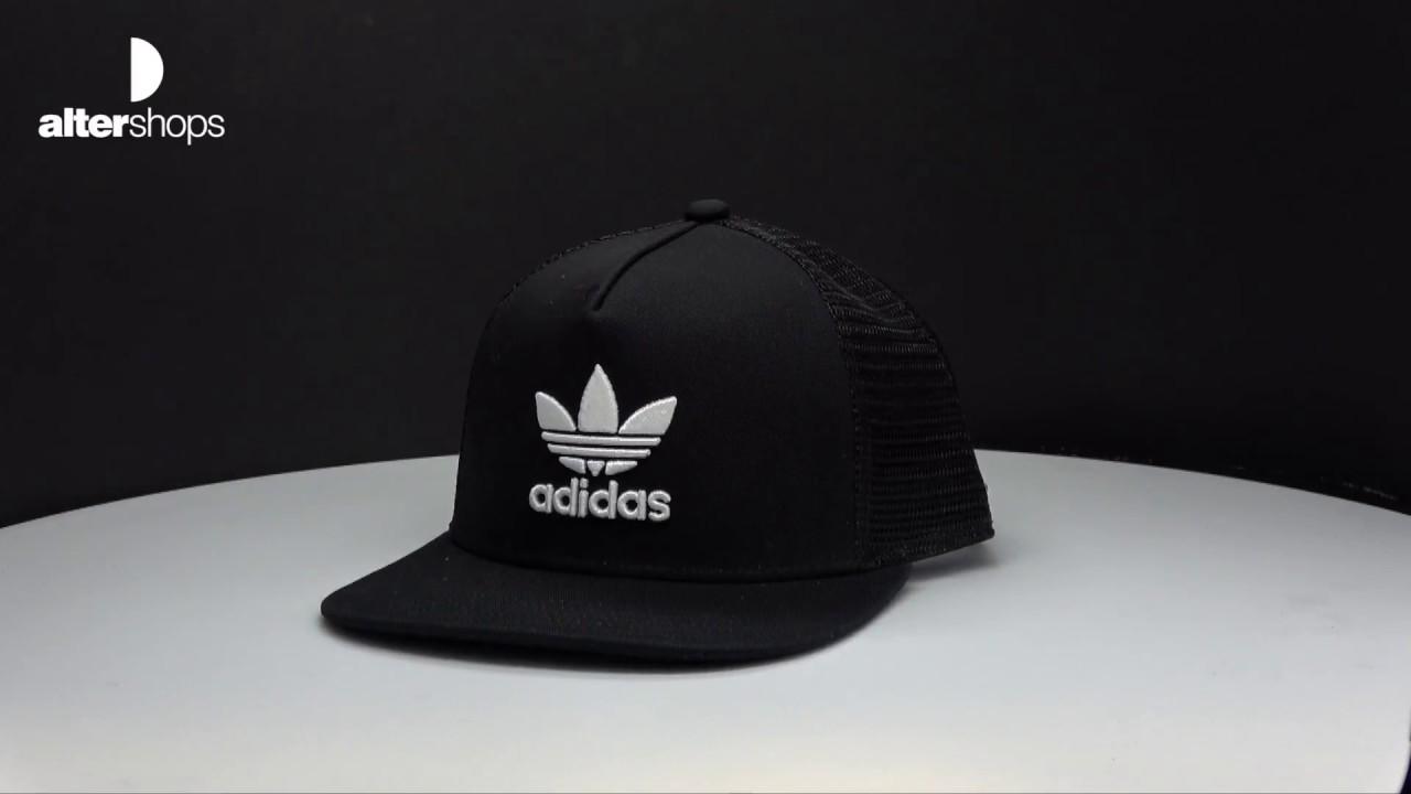 adidas Originals Trefoil Trucker BK7308 - YouTube 6fde750f10