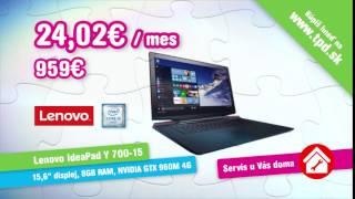 TPD Vianoce2016 - Lenovo Y700 + servis