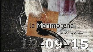 La Marimorena 13tv 19-09-2015 con Pablo Casado, Gabriel Rufián y Josep Bou
