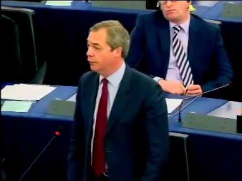 """NIGEL FARAGE; BLASTS THE IDEA OF A """"EUROPEAN ARMY"""""""