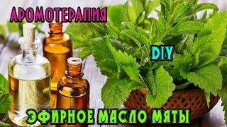 видео Эфирное масло мяты: свойства и применение!