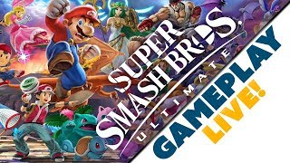 16 Minutes of Super Smash Bros Ultimate LIVE GAMEPLAY & Commentary with Nintendo