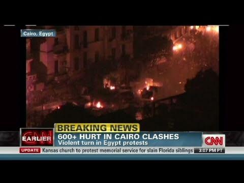 CNN:  CNN reporters on ground in Cairo