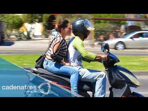 Nuevo reglamento de tránsito obligará a motociclistas a viajar con casco