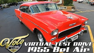 1955 Chevrolet Bel Air Virtual Test Drive at Volo Auto Museum (V19091)