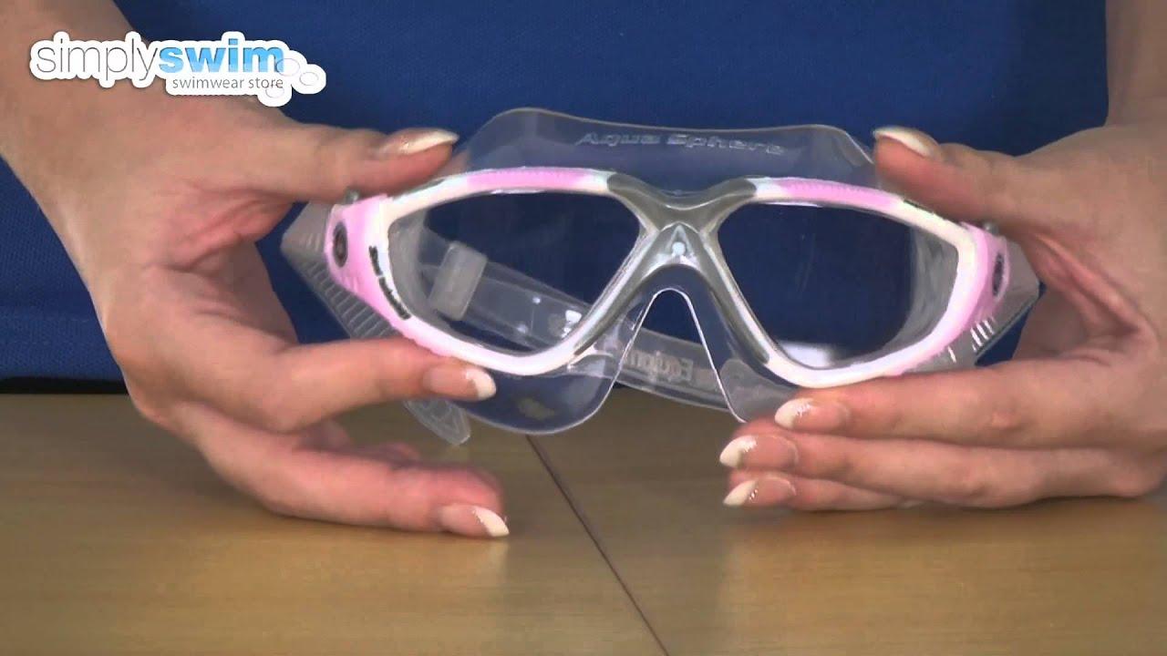 Aqua Sphere Vista Lady Goggle - www.simplyswim.com. Simply Swim 739c4db583cd