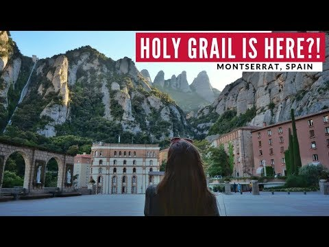 Supernatural Mountain | Montserrat Spain | Full Time Travel Vlog 10