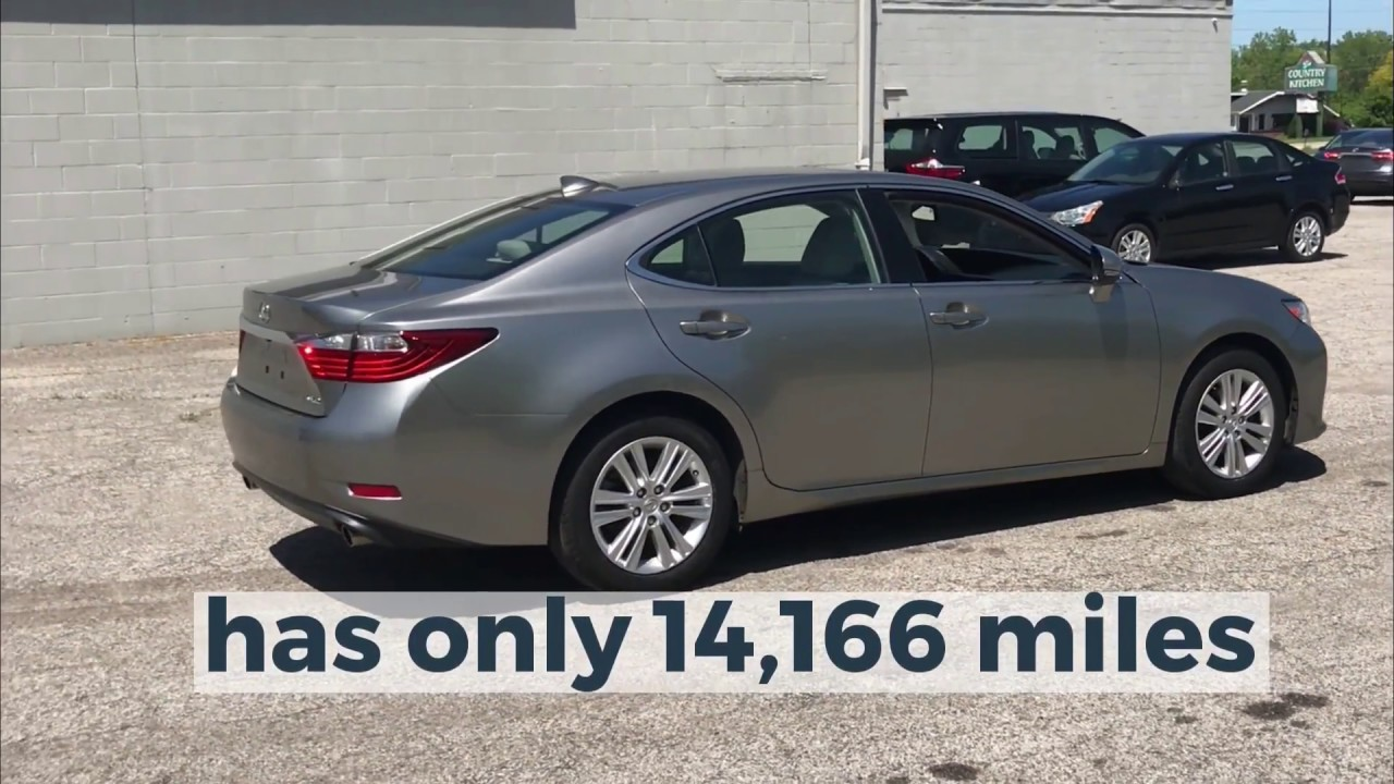 Used Cars Cleveland Ohio >> Used Low Mile Lexus For Sale In Cleveland Ohio Low Priced