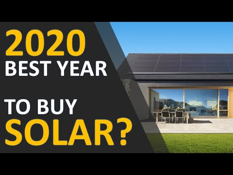Lowest Solar Cost: Is 2020 the Best Year to Purchase Solar? Cost Comparison Analysis