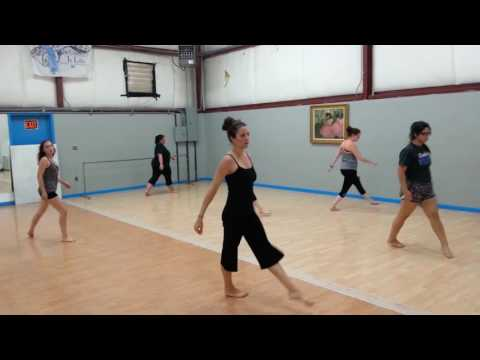 Female Adult Contemporary Dance Class - Meg Mead