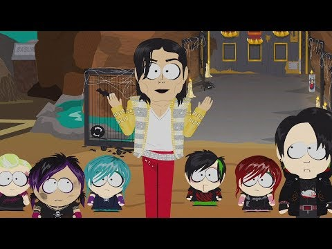 "South Park: The Fractured But Whole DLC - Michael Jackson ""Corey Haim"" Boss Fight"