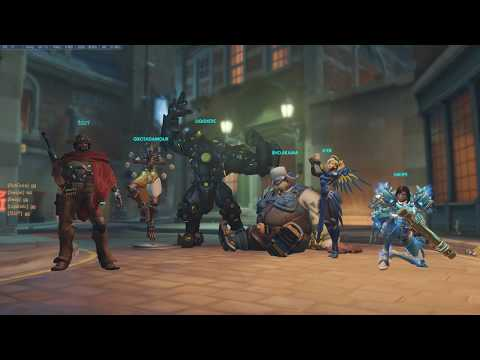 Overwatch 01 12 2018   scrim test 1 gamers energy King's row