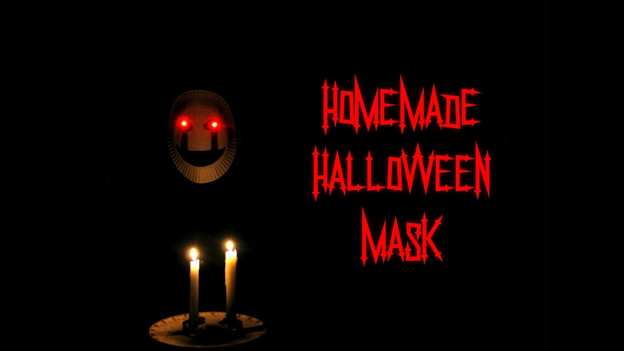 How To Make A Homemade Halloween Mask│The Home Lab - YouTube