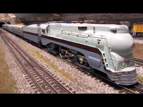 MTH Santa Fe Blue Goose Passenger Set
