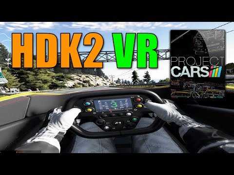 Project Cars VR Gameplay With HDK2 OSVR By Razer