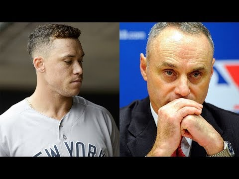 Aaron Judge VS Major League Baseball, Judge Contacted by @MLB For Machado Comment