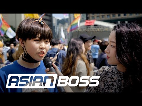 Do Koreans Support LGBTQ+? (Ft. Seoul Queer Parade) | ASIAN BOSS