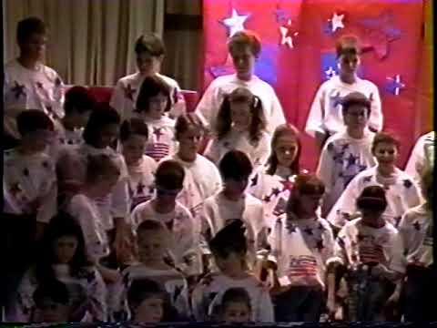 Bobby Sellman's 5th grade program at Mary Woodward Elementary School   1997