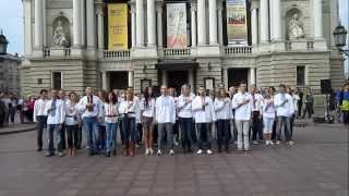 21 september 2014 - IZFM, Lviv, Ukraine / Zouk Flashmob