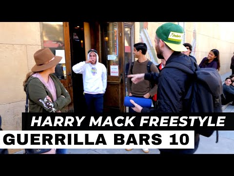 Harry Mack Does Epic 7-Minute One-Take Freestyle | Guerrilla Bars Episode 10