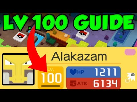 HOW TO GET LEVEL 100 POKEMON In Pokemon Quest! Pokemon Quest Training Guide!