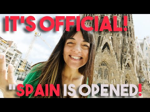 SPAIN IS OFFICIALLY OPENED!! 😱 ✈️ Latest News 2021!