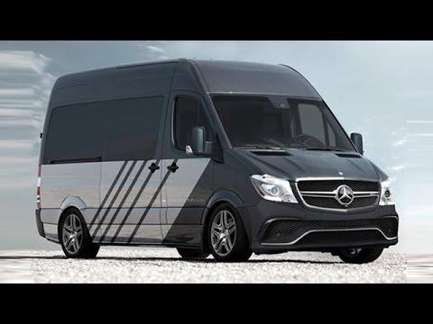 Mercedes Benz Sprinter >> Mercedes-AMG Sprinter 63 S Van Powerful Performance Version Unveiled - YouTube