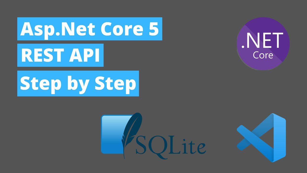 Asp.Net Core 5 Rest API Step by Step