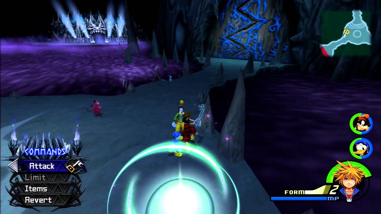 Kingdom Hearts II FM [PS3] Commentary #058, Limit Form Leveling ...
