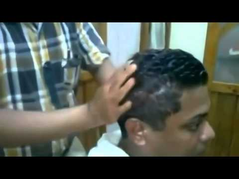 1 Hour Turkish barber    haircut, shaving with fire,Indian head massage  compilation Full work