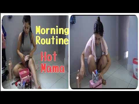 Morning Routine|Cambodian Mom